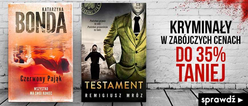 Kryminały w zabójczych cenach w Książkomat.pl >>