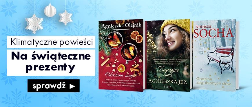 Klimatyczne powieści na świąteczne prezenty